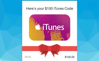 Discounted iTunes Gift Card from PayPal