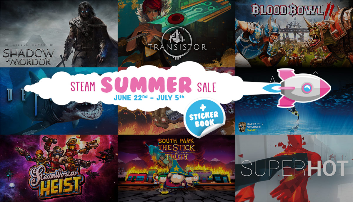 The Steam Summer Sale Is On Now Through July 5th