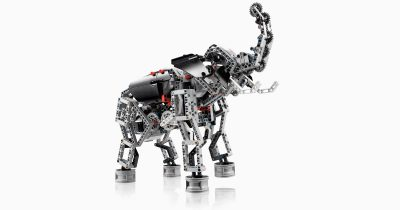 Elephant Built with LEGO MINDSTORMS