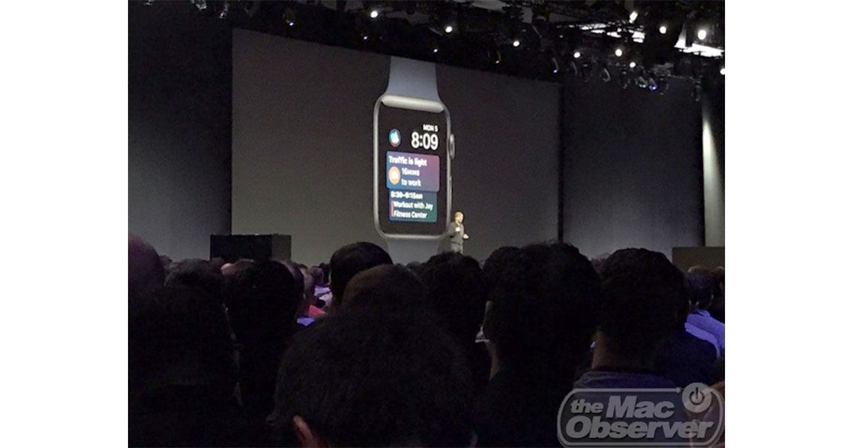 watchOS 4 preview at Worldwide Developer Conference 2017