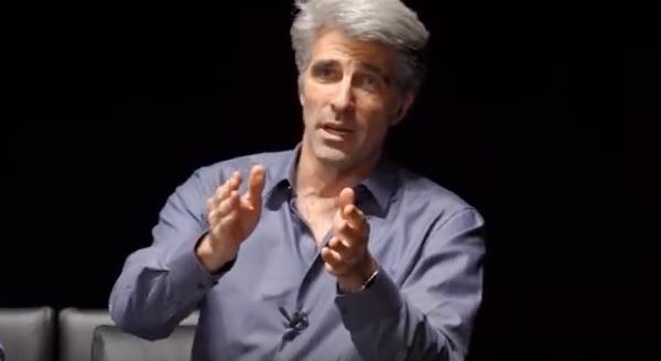 Craig Federighi explains APFS