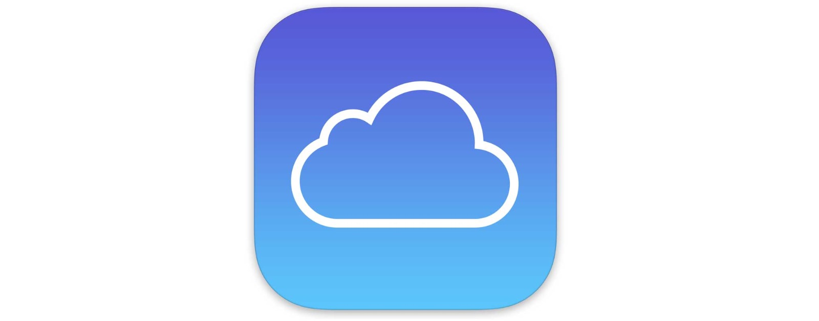 Image of iCloud icon. U.S. Customs agents could search our iCloud.