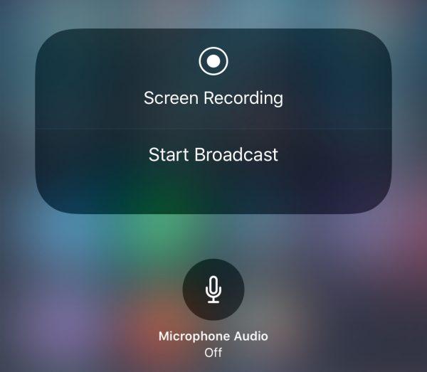 Screen Sharing in iOS 11