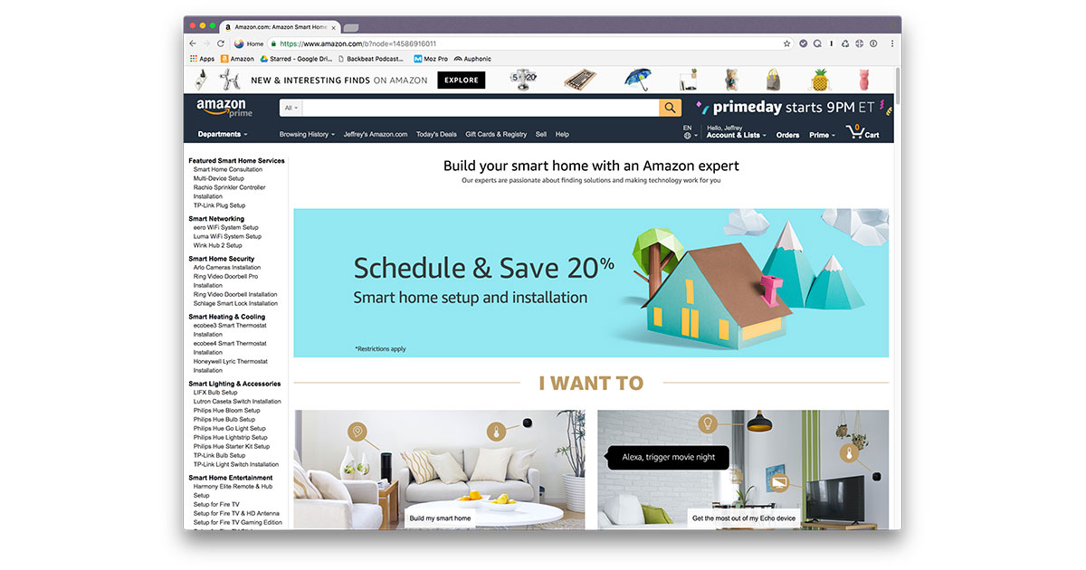 amazon 39 s gets savvy about smart home setup with on site techs the mac observer. Black Bedroom Furniture Sets. Home Design Ideas