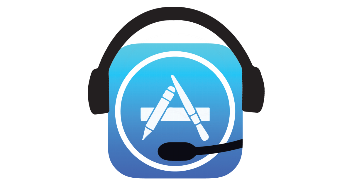App Store icon with a customer support headset