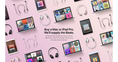 Get free Beats headphones with 2017 Apple back to school deal