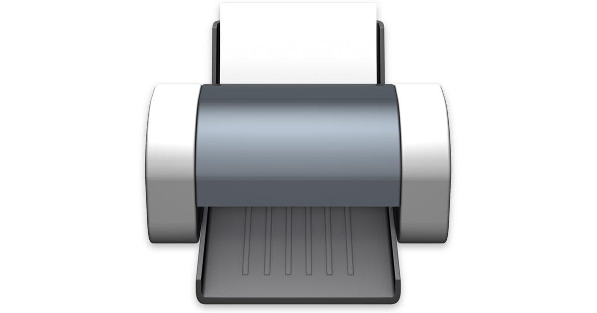Apple Printer Icon