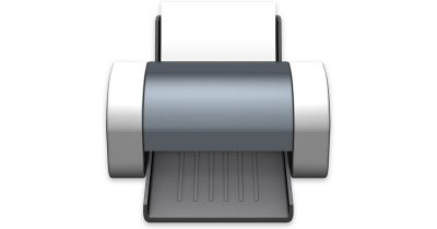 Apple Printer Icon