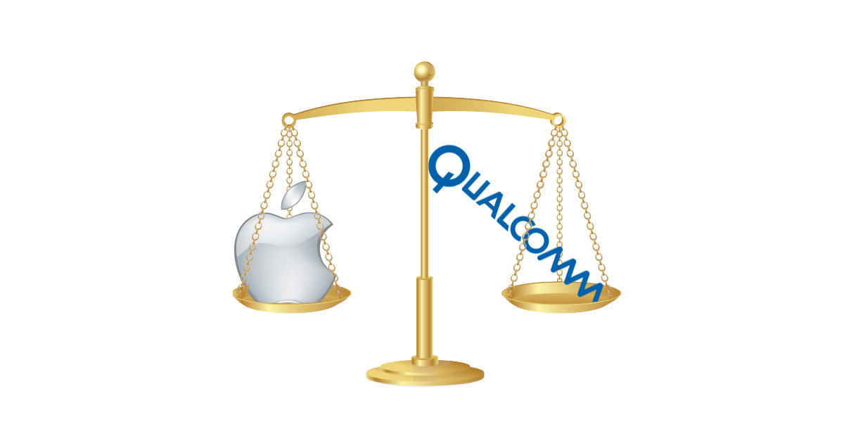 Apple and Qualcomm on the Scales of Justice