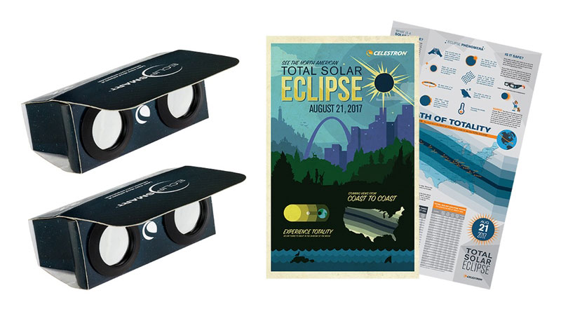 The Celestron EclipSmart Solar Observing Kit for watching the solar eclipse