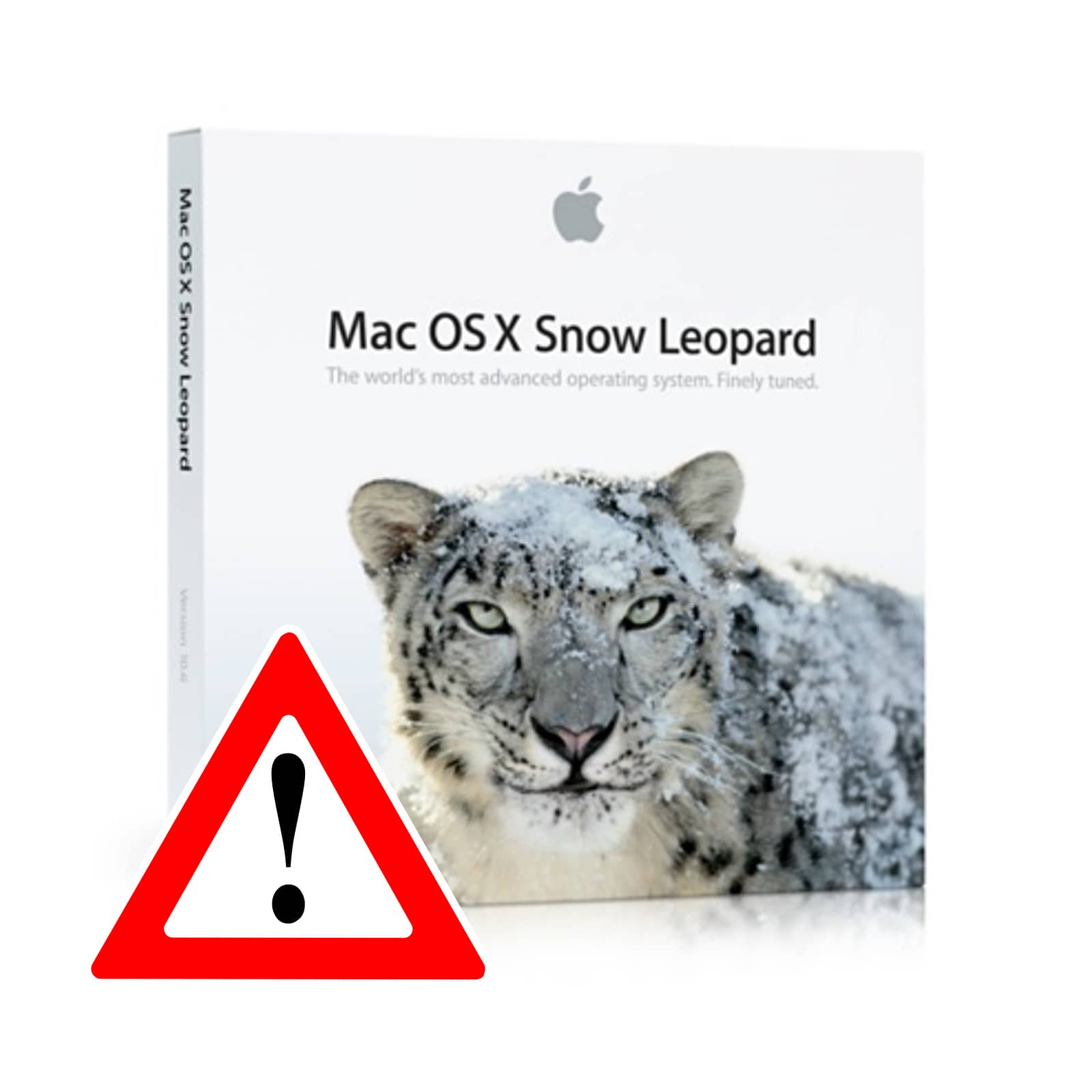 Image of OS X Snow Leopard box, which is what the latest exploits from CIA Vault 7 run on.