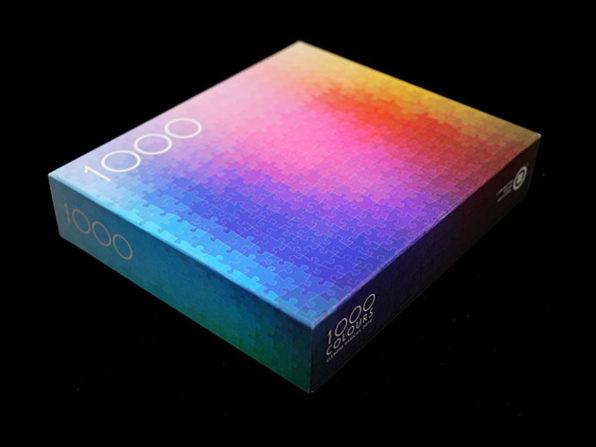 Clemens Habicht's Colour Puzzles with 1,000 Pieces: $39.99