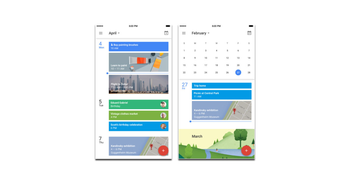 Google Calendar App for iPhone Adds Today Widget