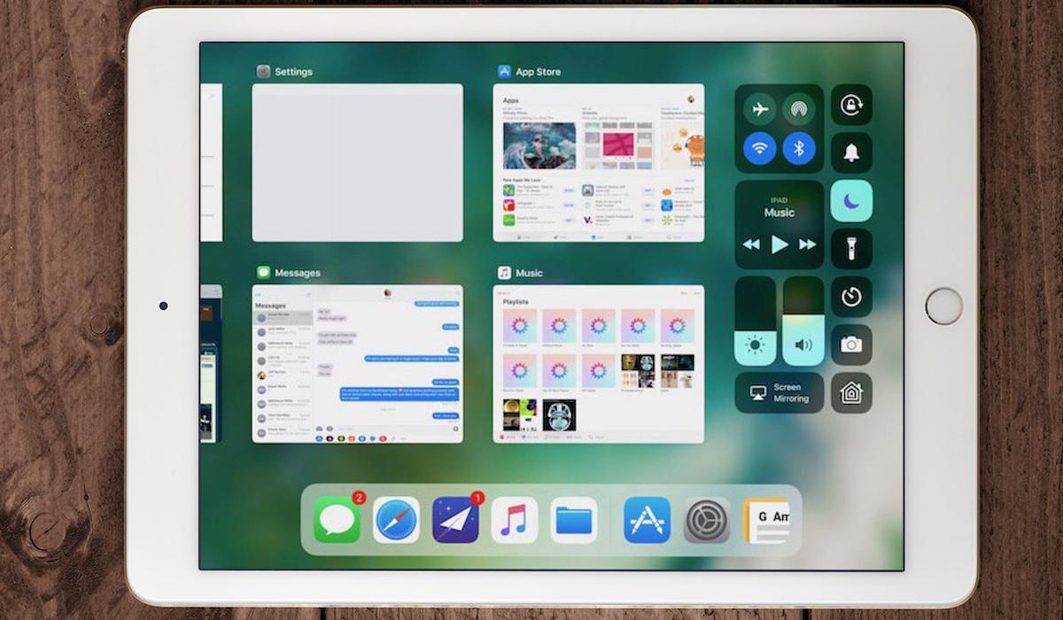 iOS 11 iPad app switcher