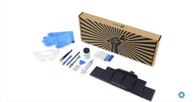 iFixit battery replacement kit for the Retina MacBook Pro