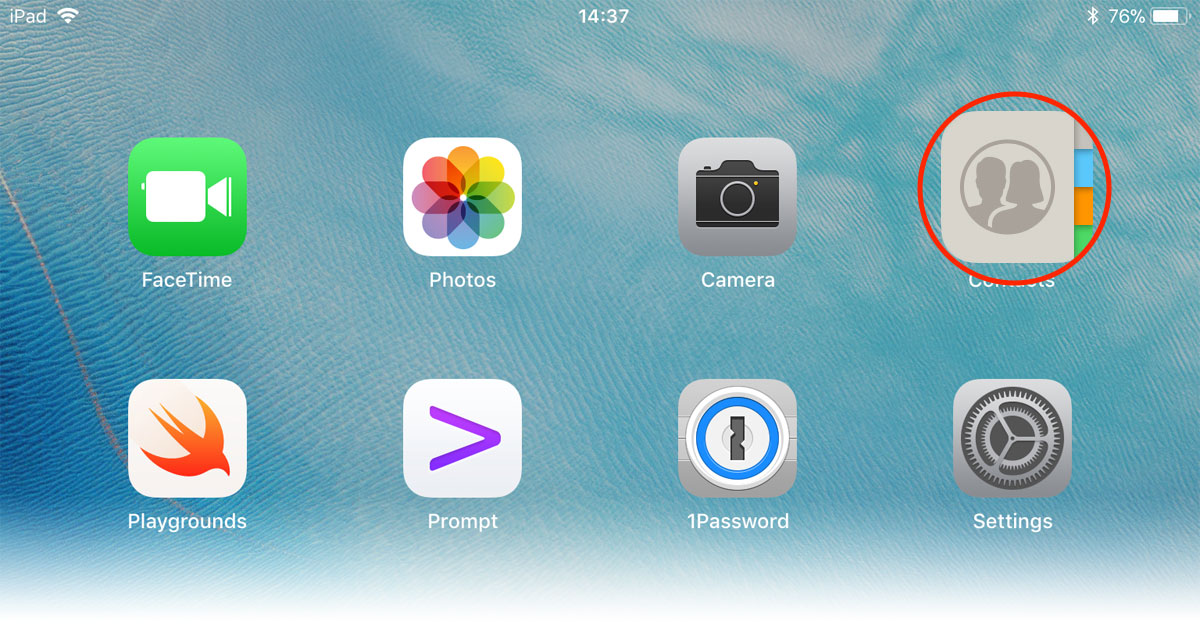 iOS 11 Contacts App Icon gets a Little Gender Flexibility