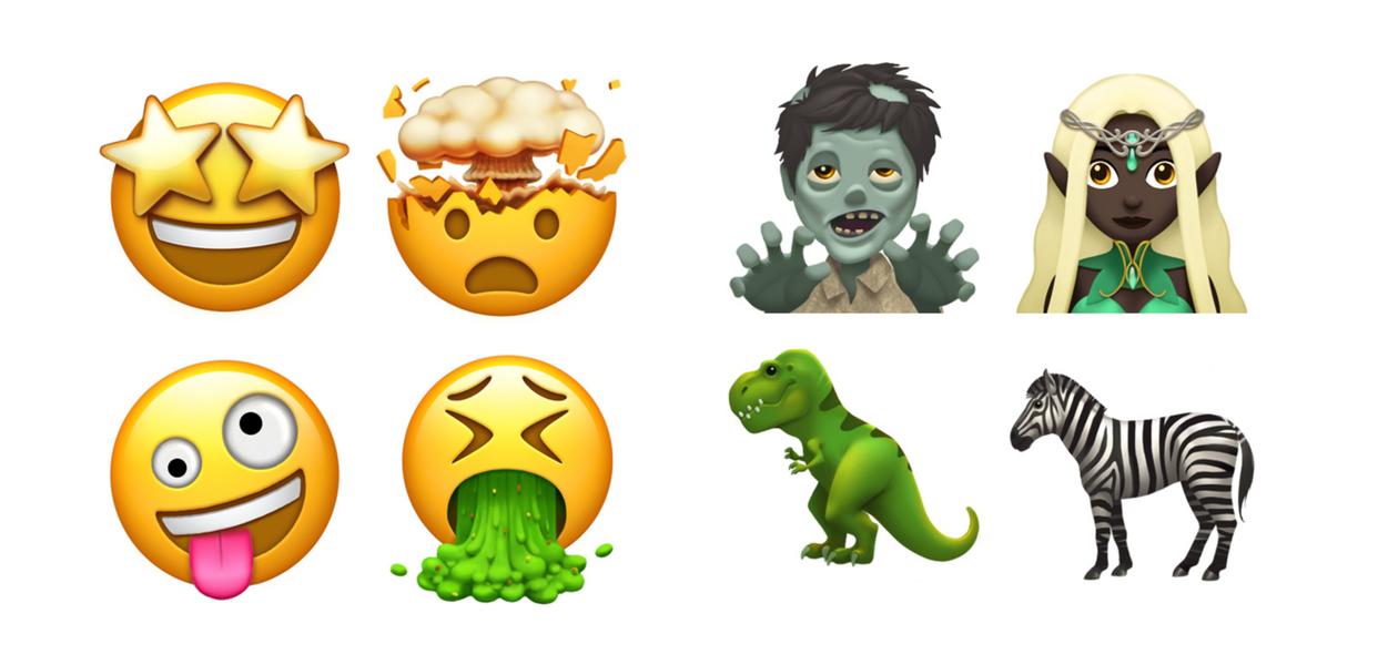 Image of new emojis.