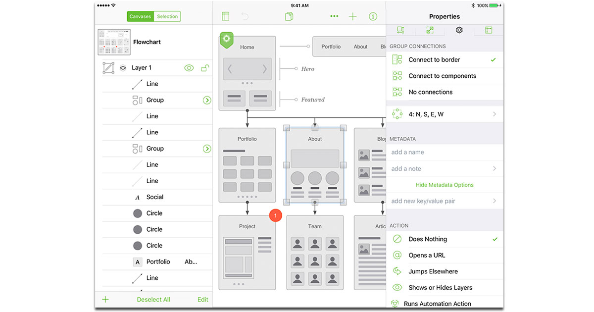 OmniGraffle 3 for the iPhone and iPad