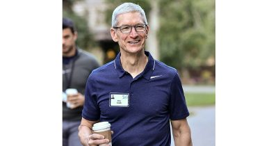 Tim Cook at Sun Valley 2017