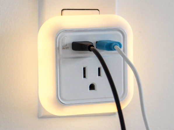 Travel USB Wall Charger with LED Nightlight: $16.99