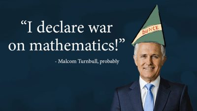 malcolm turnbull encryption dunce