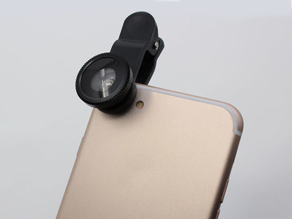 5-in-1 Clip and Snap Smartphone Camera Lenses: $17.99