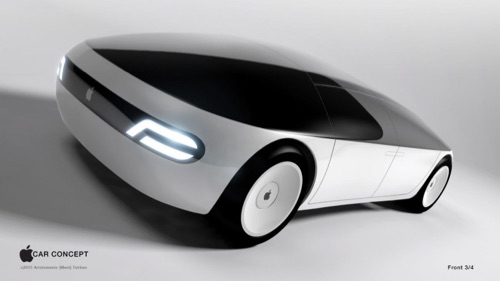 Apple concept car from earlier times.
