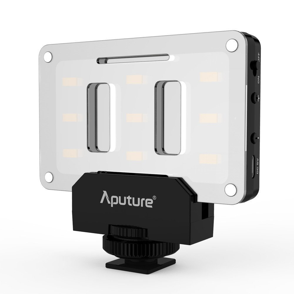 I use this inexpensive Aputure AL-M9 portable LED fill light more than I ever expected.