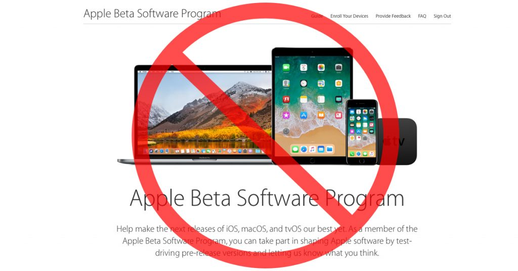 Before you test drive a beta OS, please read the rest of this column.