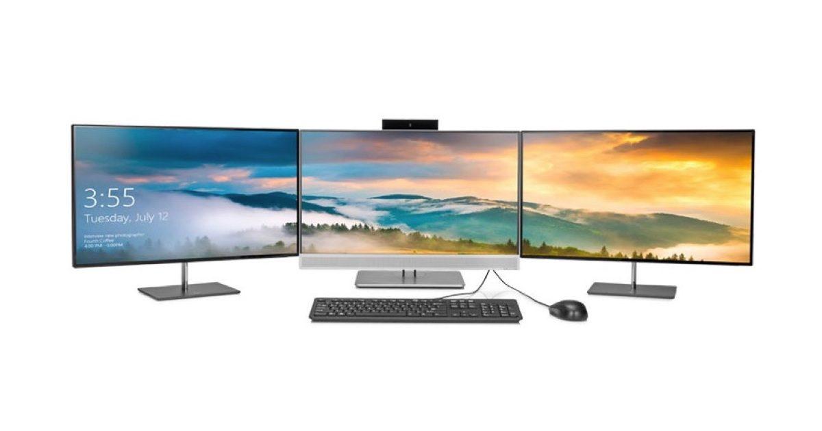 HP Z workstation with Windows.