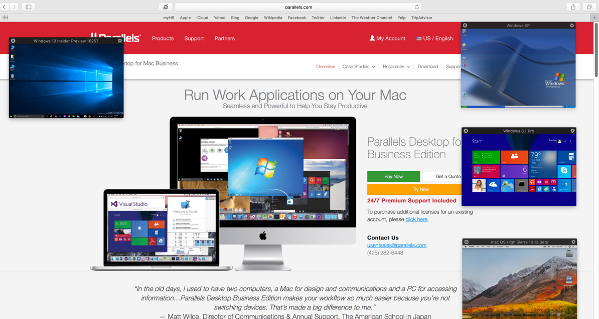 How to Use Parallels Desktop to Run macOS High Sierra as a Virtual