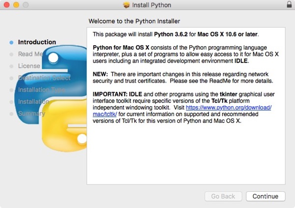 Python's Installer Package Welcome