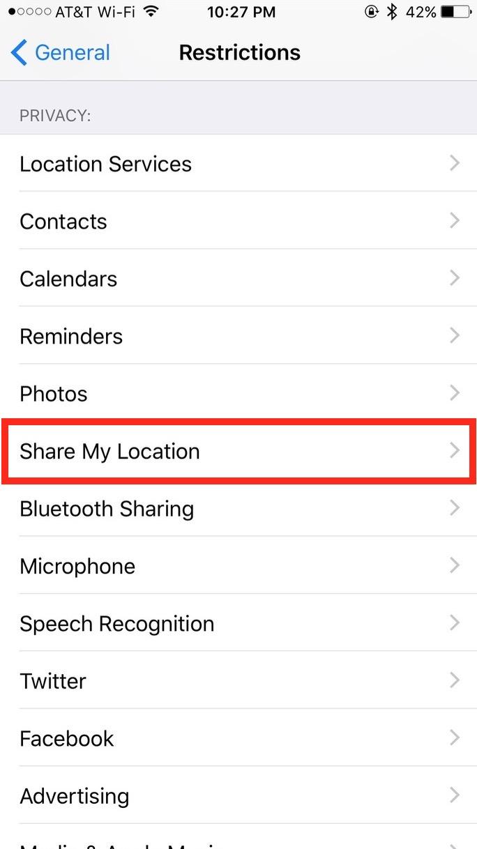 Share My Location