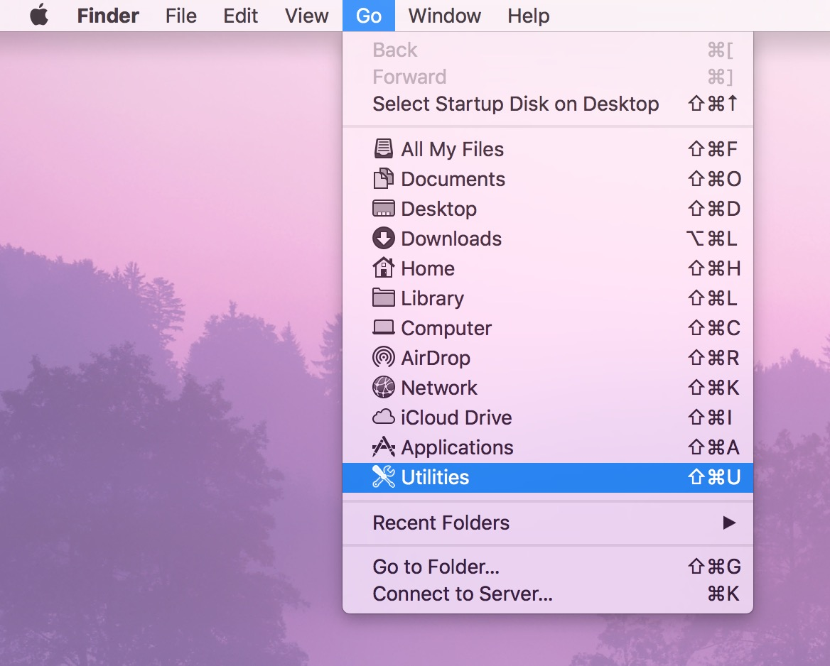 Finder Go Menu gets you to the Utilities folder and Keychain Access
