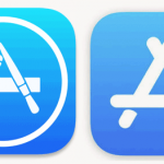 Old and New App Store Icons