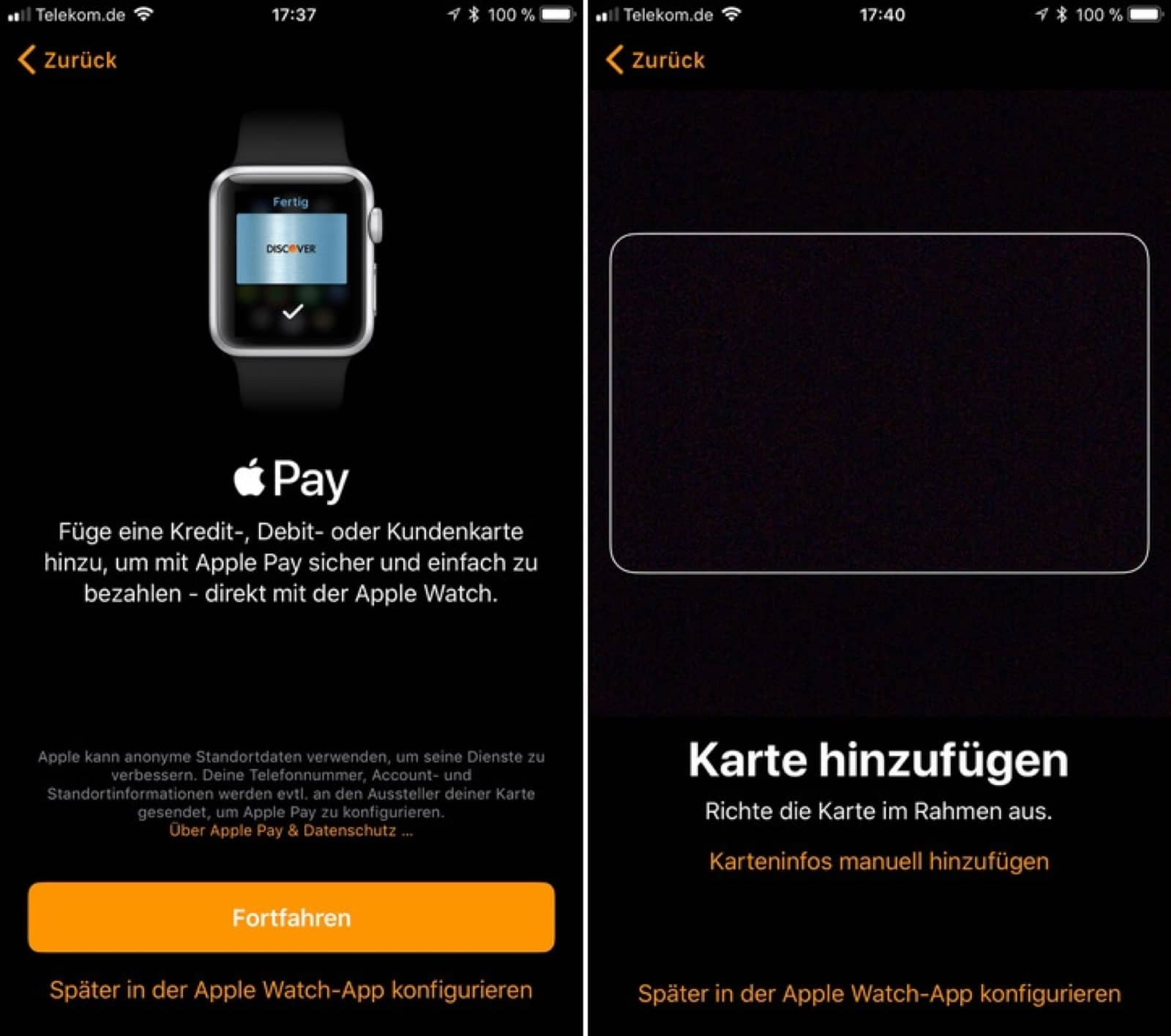 Apple Pay coming to Germany soon based on iPhone screenshots