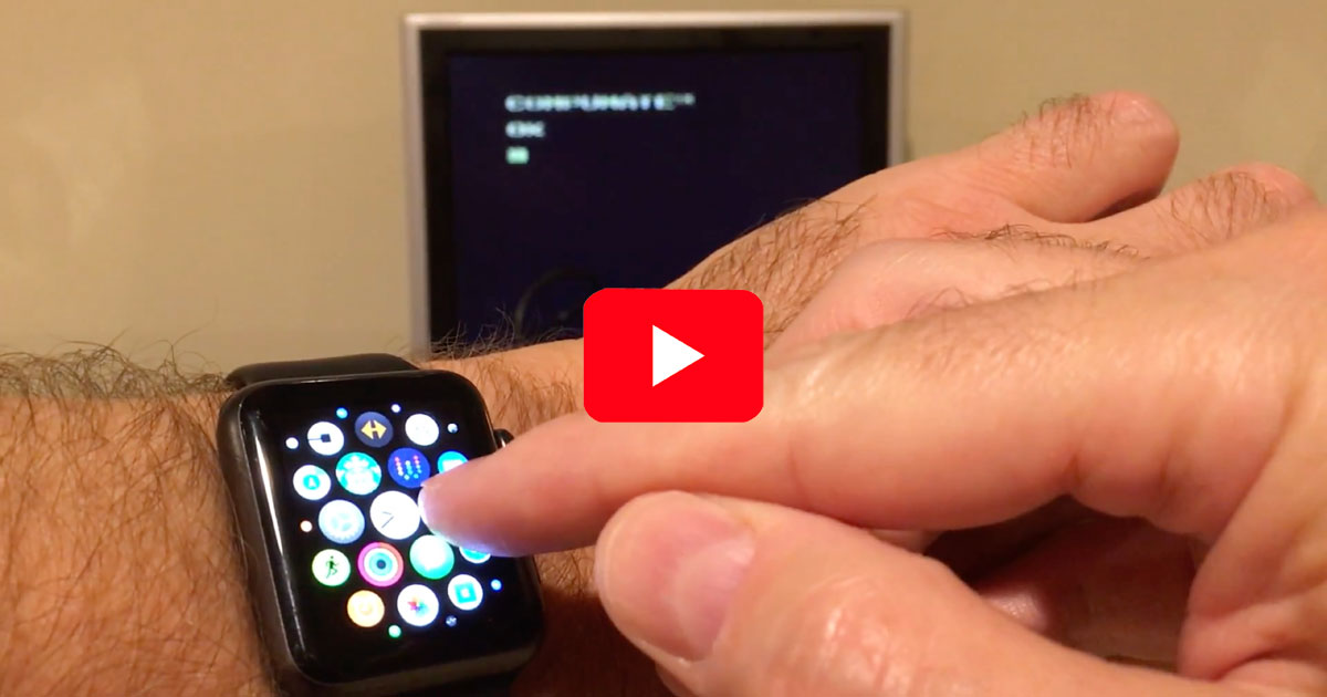 Transferring an app from Apple Watch to Atari 2600