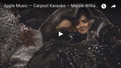 Carpool Karaoke with Maisie Williams and Sophie Turner