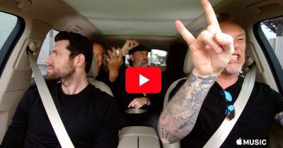 Carpool Karaoke with Metallica and Billy Eichner