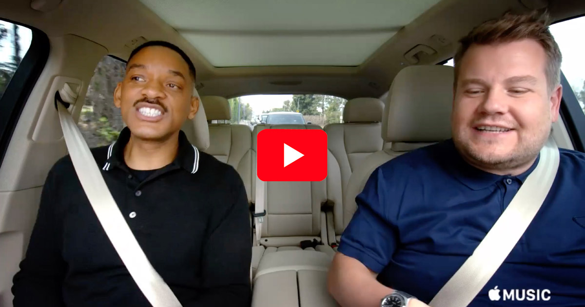 Carpool Karaoke preview with James Corden and Will Smith