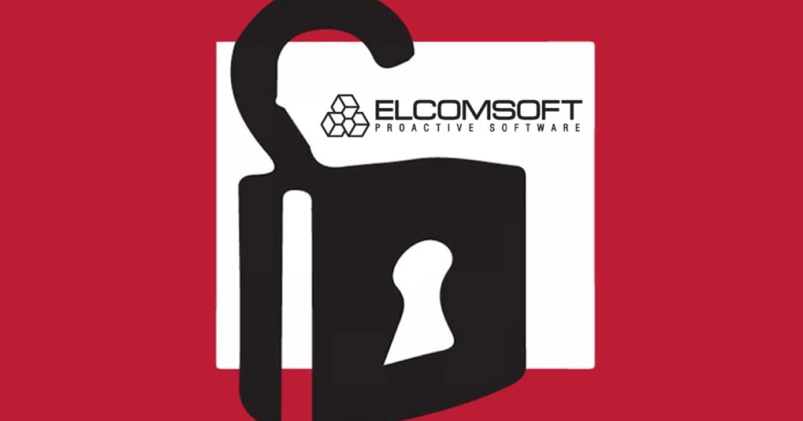 Logo of Elcomsoft Phone Breaker tool.