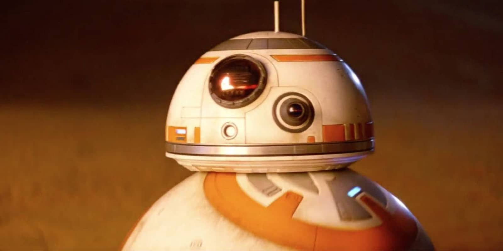 Close up image of BB-8 which will be at a Force Friday II session for kids