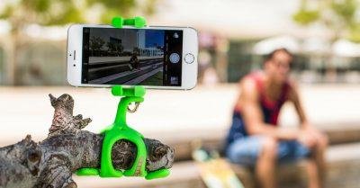 Gekkopod turns any stick into a selfie stick!