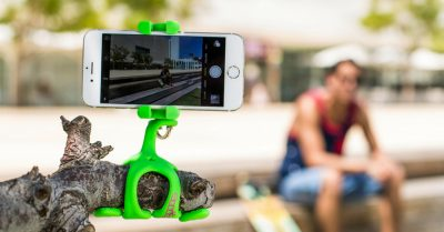 Gekkopod turns any stick into a selfie stick!