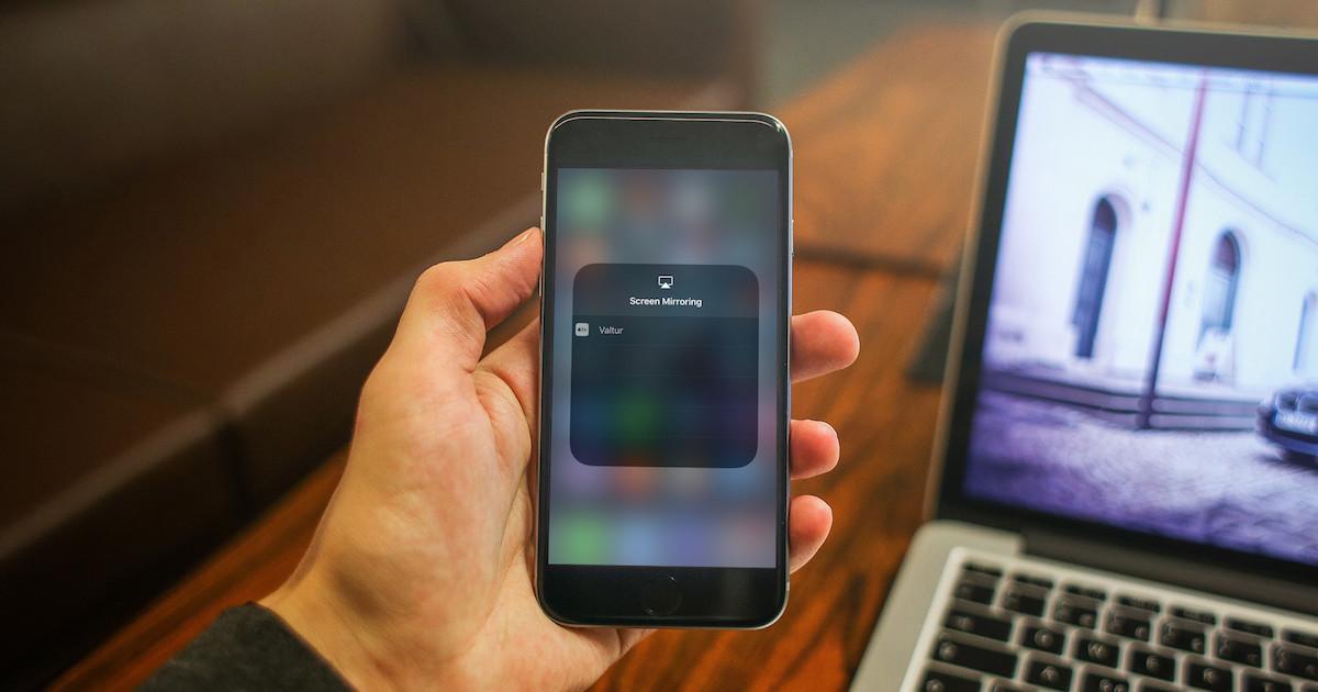 iOS 11 Screen Mirroring