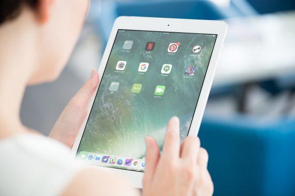 iOS 11 iPad Dock in Portrait Orientation