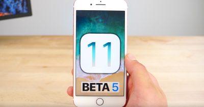 iOS 11 Beta 5 Changes