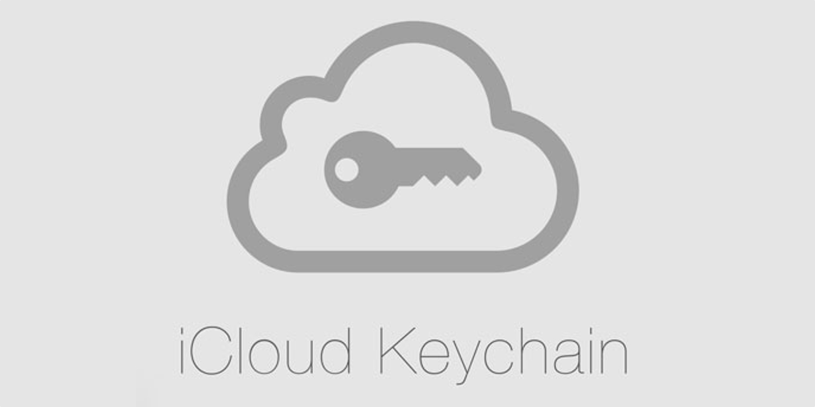 Logo of iCloud Keychain, which the Phone Breaker can crack.