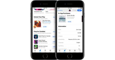 in-App Purchases on the App Store in iOS 11