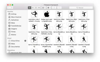 iOS 11 Workout Icons